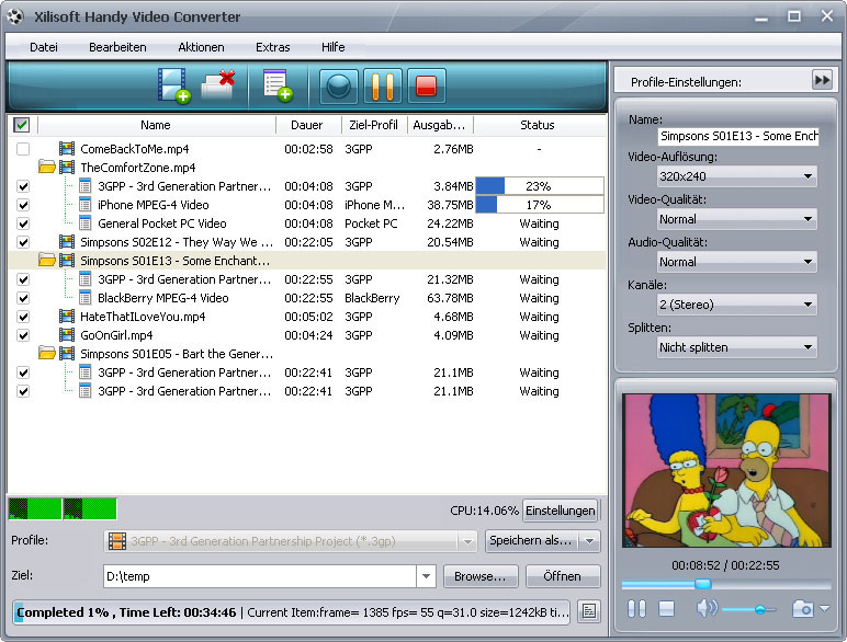 Xilisoft Handy Video Converter